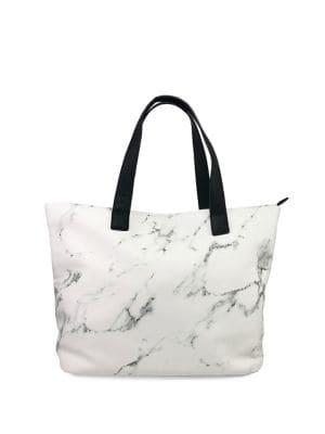 Violet Ray Marble Dreams Tote