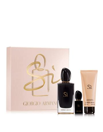 Giorgio Armani Si Intense Eau De Parfum Mothers Day Set - 124.00 Value