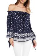 Bardot Lopez Printed Top
