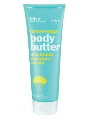 Bliss Lemon & Sage Body Butter/6.7 Oz.