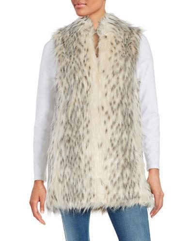 Donna Salyers Faux Fur Vest