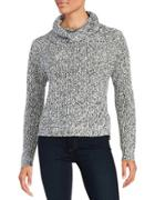 Design Lab Lord & Taylor Knit Cowlneck Sweater