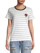 Vero Moda Striped Short Sleeve Tee
