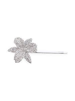 Nina Chana Crystal Orchid Bobby Pin