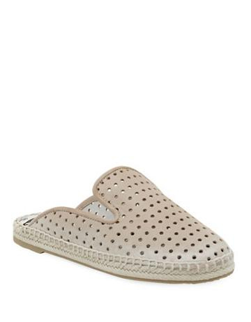Dv By Dolce Vita Baz Leather Espadrille Smoking Slippers