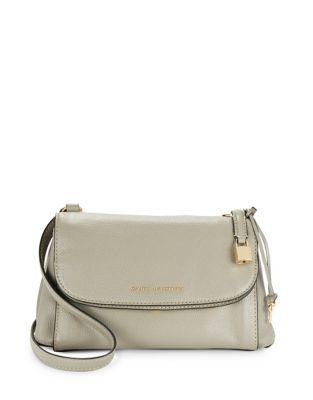 Marc Jacobs Boho Grind Leather Messenger Bag