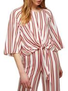 Miss Selfridge Fenella Striped Top