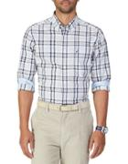 Nautica Windowpane Plaid Shirt