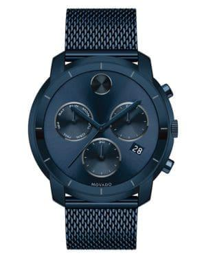 Movado Bold Bold Chronograph Stainless Steel Watch