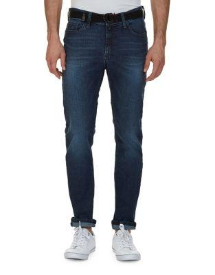 Nautica Slim-fit Tapered Faded Jeans