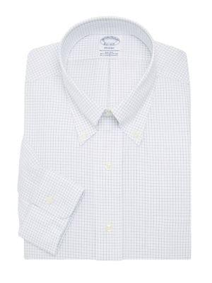 Brooks Brothers Red Fleece Grid Button-down Shirt