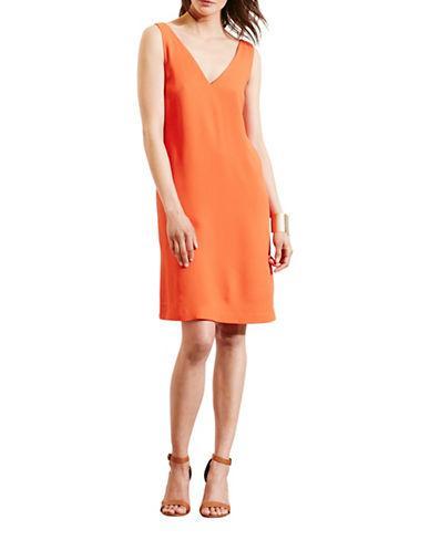 Lauren Ralph Lauren Crepe Sleeveless Shift Dress