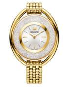Swarovski Crystalline Yellow Goldtone Stainless Steel Bracelet Watch, 5200339