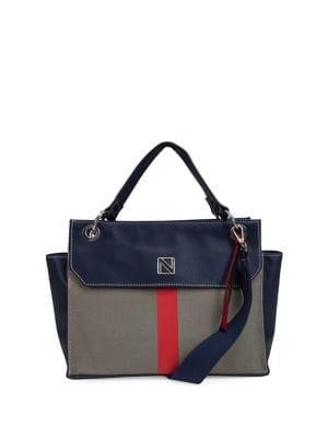 Nautica Rower's End Canvas Satchel