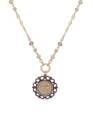 Lonna & Lilly Convertible Beaded Crystal Pendant Necklace
