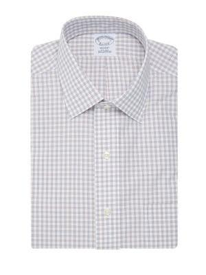 Brooks Brothers Red Fleece Checkered Button-down Shirt