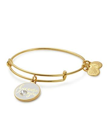 Alex And Ani Color-infused Charm Bracelet