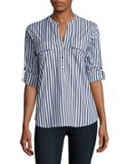 Ivanka Trump Striped Blouse