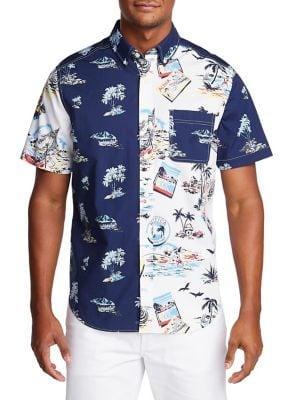 Nautica Classic-fit Island Breeze Button-down Shirt