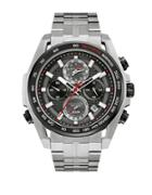 Bulova Precisionist Stainless Steel Chronograph Watch