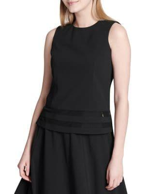 Calvin Klein Illusion Hem Sleeveless Top