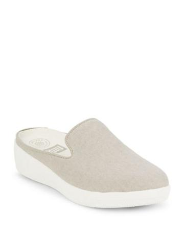 Fitflop Superskate Tm Canvas Slip-on Sneakers