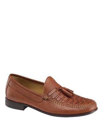 Johnston & Murphy Cresswell Woven Tassel Loafers