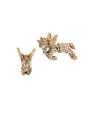 Betsey Johnson Summer Minis Pegasus Earrings