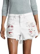 Blanknyc Frayed Denim Shorts