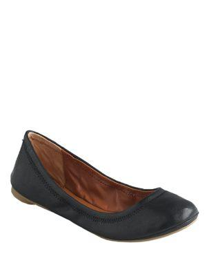 Lucky Brand Emmie Leather Round-toe Flats