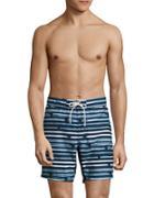 Nautica Striped Drawstring Shorts