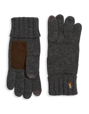 Echo Ribbed Wool Gloves
