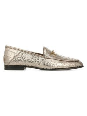 Sam Edelman Trail Blazer Loraine Embossed Leather Loafers