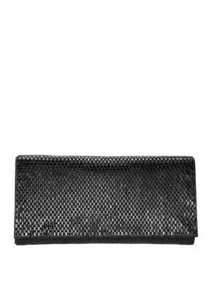 Nina Zora Embellished Crystal Convertible Clutch