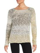 Design Lab Lord & Taylor Shimmer Knit Sweater