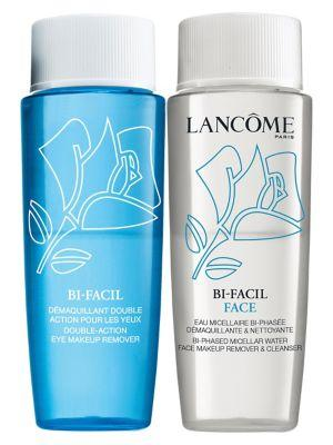 Lancome 2-piece Eye & Face Makeup Remover Set