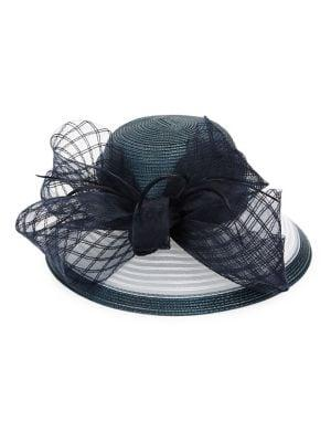 Giovannio Bow Embellished Hat