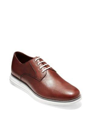 Cole Haan Grand Plain Toe Leather Oxfords