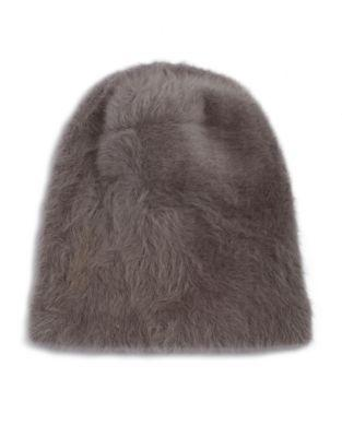 c102feae4 Parkhurst Plush Rabbit Fur Beanie | LookMazing