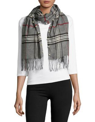 Lord & Taylor Plaid Scarf