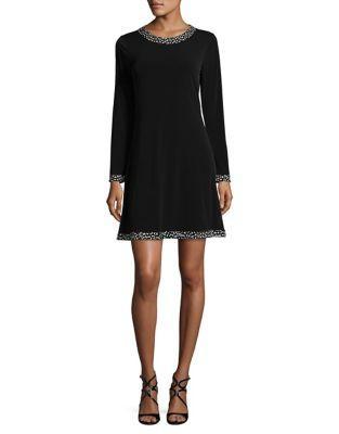 Michael Michael Kors Cheetah Crewneck Dress