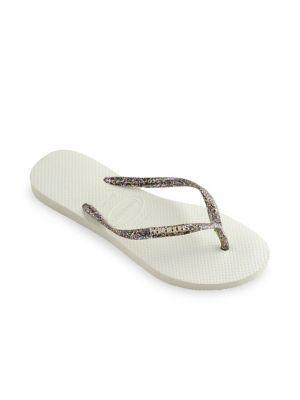 Havaianas Slim Logo Metallic Sandals