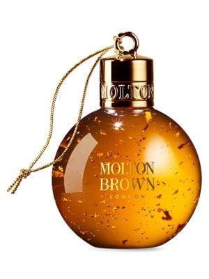 Molton Brown Mesmerising Oudh Accord & Gold Festive Body Wash Bauble