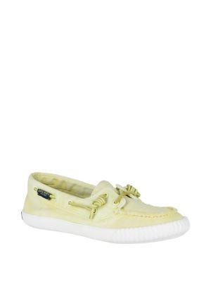 Sperry Sayel Away Canvas Lace-up Loafers