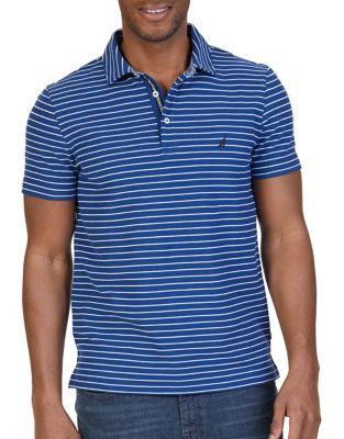 Nautica Slim-fit Striped Polo