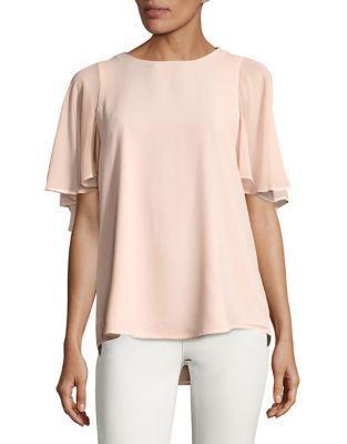 Calvin Klein Flare-sleeve Top