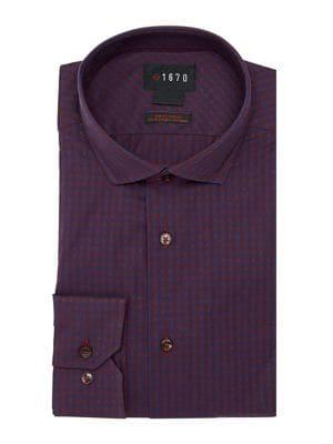 Lord Taylor Mini Checkered Button Down Shirt