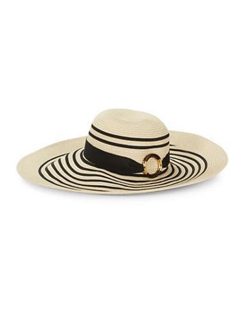 Lauren Ralph Lauren Striped Sun Hat
