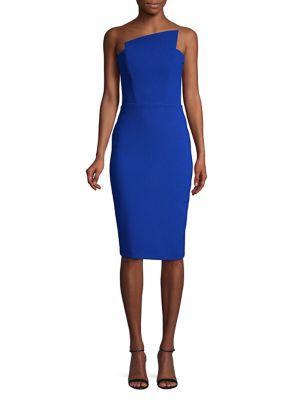 Nicole Bakti Strapless Sheath Dress