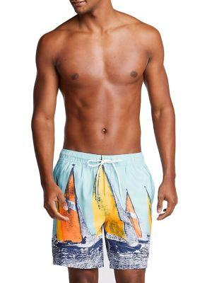 Nautica Vintage Racing Swim Shorts
